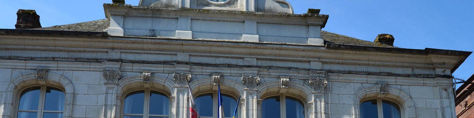 la mairie de cormeilles en auge