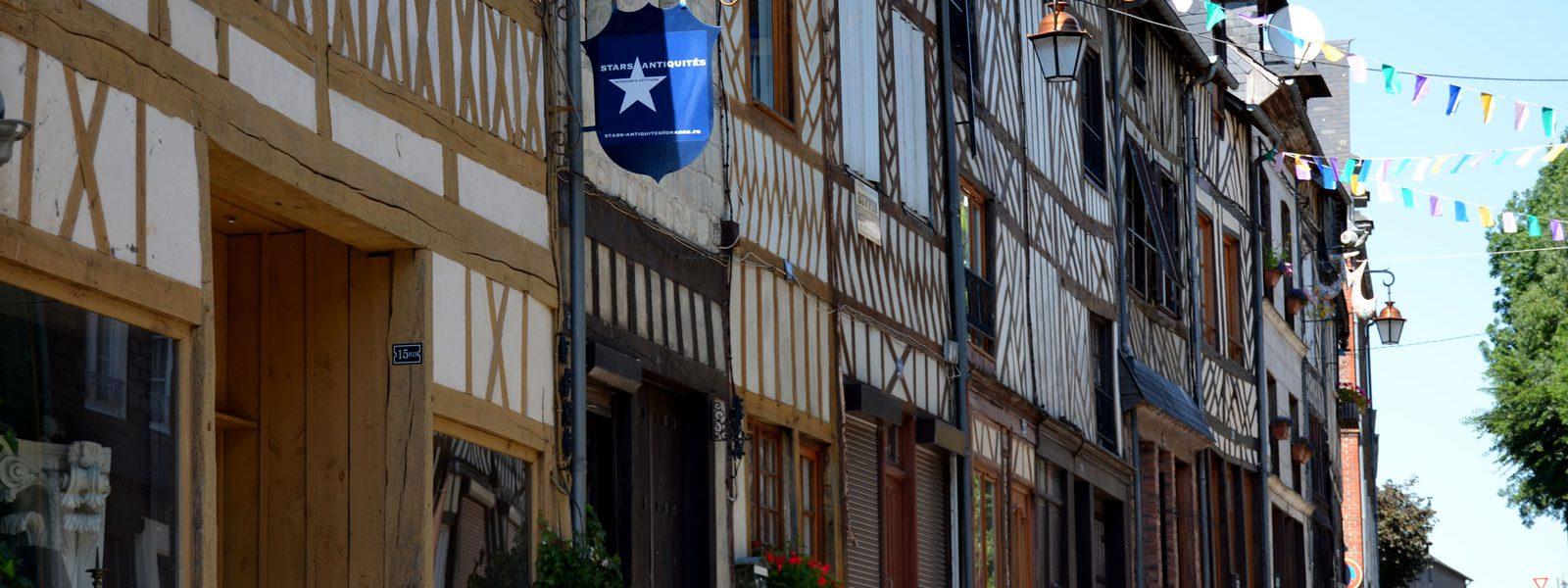 bougeons à Cormeilles rue de Pont-Audemer