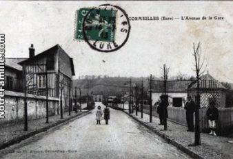 CORMEILLES HIER 11 Av. de la gare