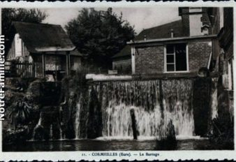 CORMEILLES HIER  10 barrage