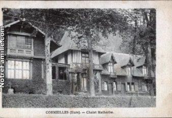 CORMEILLES HIER 20 chalet malherbe