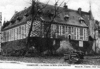 CORMEILLES HIER 15 CHATEAU DE MALOU